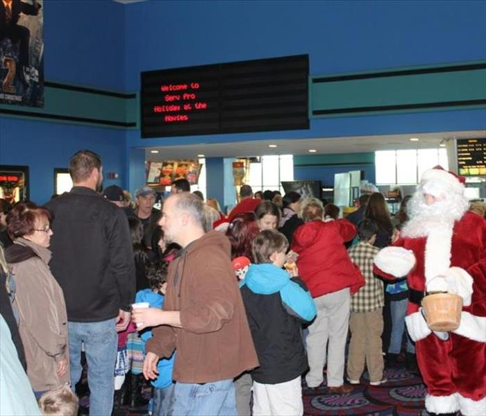 2013 SERVPRO of Providence Holiday at the Movies