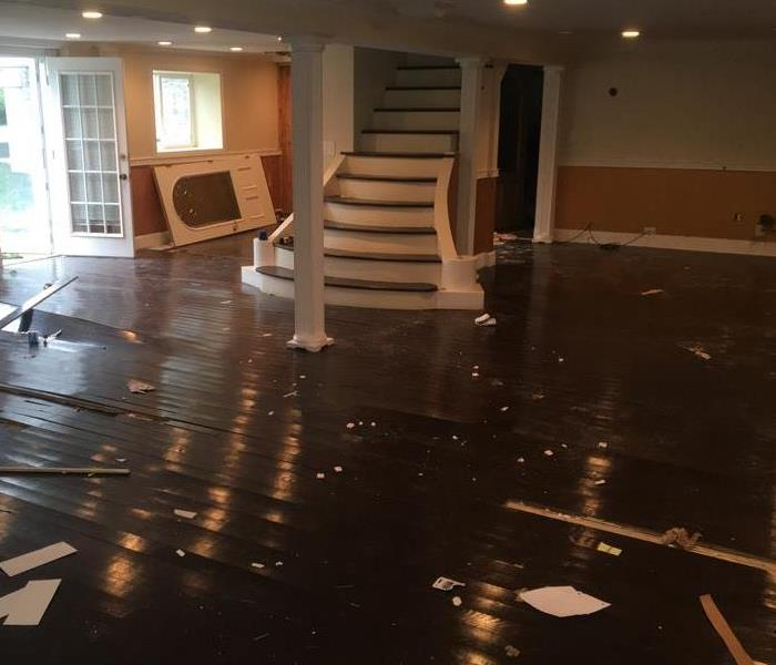 Wood Floor damaged from Water